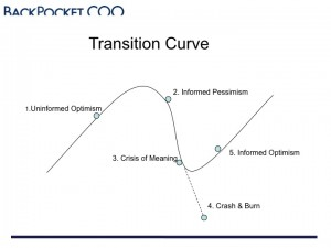 transition curve slide 300x225 5 Phases of PhD Motivation Explained: The Roller Coaster Curve